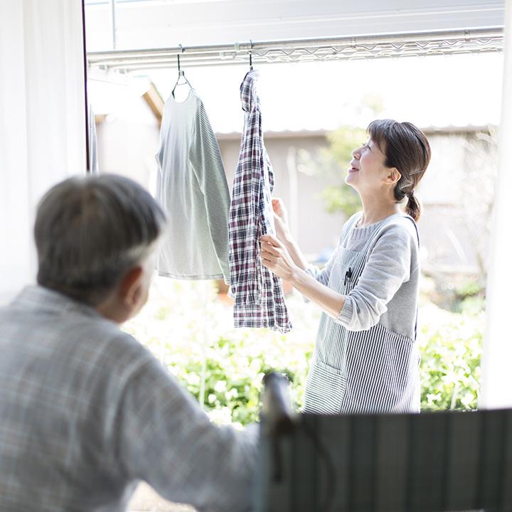 日常生活の家事を利用者の代わりに行う介護サービス